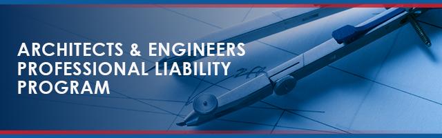 Architects & Engineers Insurance Program