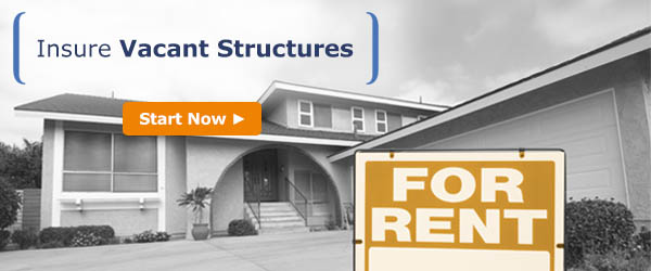 Insure vacant structures